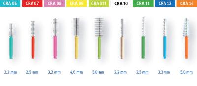 Duas linhas de escovas: CPS prime e CPS regular